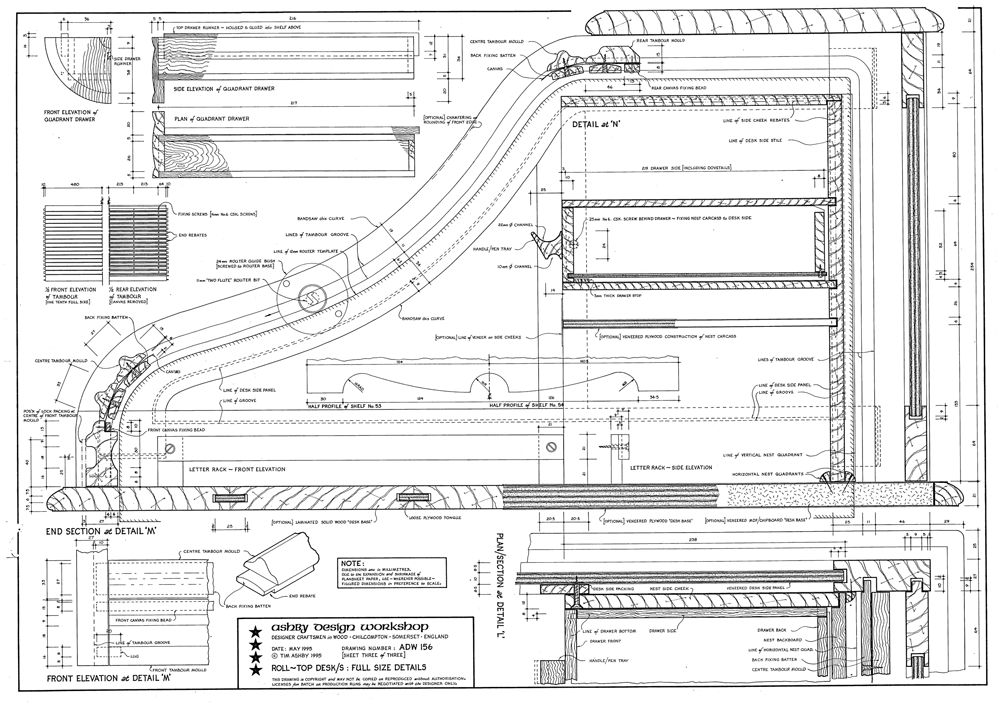 Adw on Roll Top Desk Plans