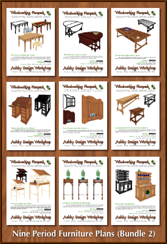 ADW612-Nine-Period-Furniture-Plans—-Bundle-2
