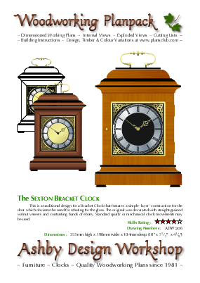 George Iii Bracket Clock Plans Woodworking Plansclub From Ashby