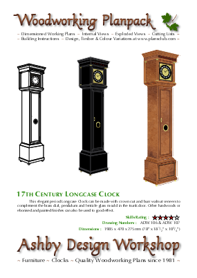 Longcase Clock cover