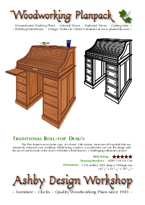 Roll-Top Desk cover