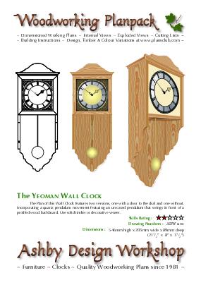 Large Vienna Regulator Clock Case Plans Woodworking Plansclub From