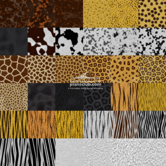 Fabric and Fur - Seamless Tiles
