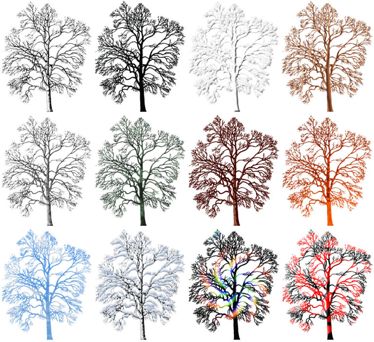 graphic winter trees 250x305px (x12) plans club graphic:education